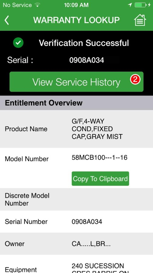 Carrier Enterprise HVAC Assist- screenshot