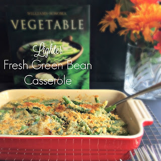 Lighter Fresh Green Bean Casserole