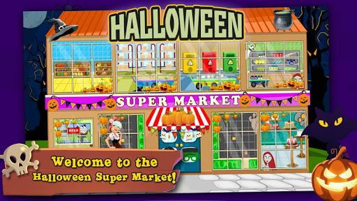 Halloween Supermarket Girl