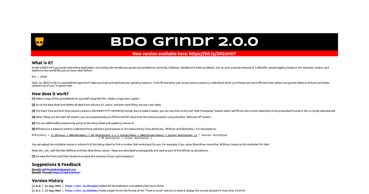 template bdo grindr 2 0 0 google sheets