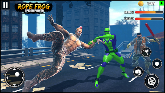 Rope Frog Spider Power : Gangster Crime Vice City – APK Mod Updated 3