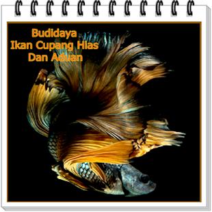Budidaya Ikan Cupang Hias Dan Aduan - náhled