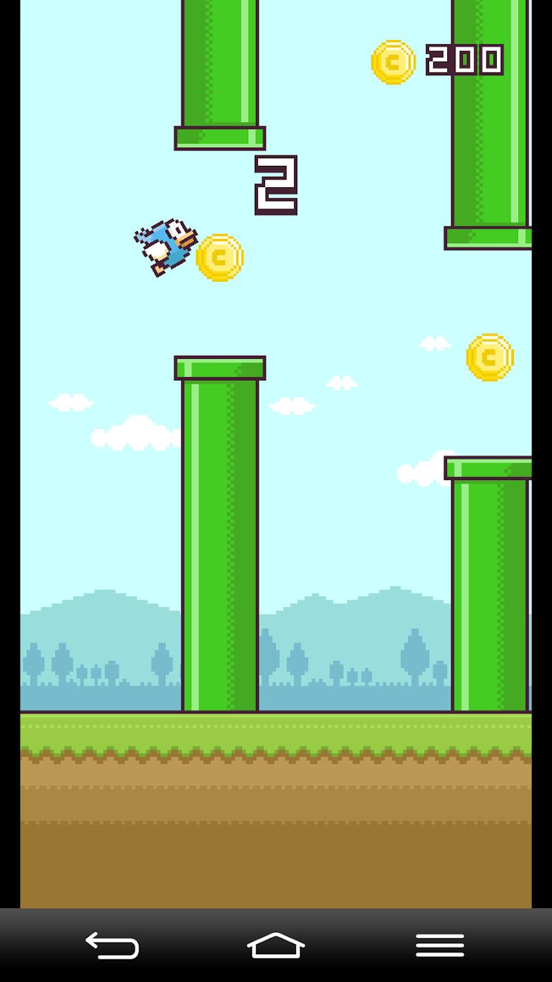 Скриншот Yappy Bird: with capsule