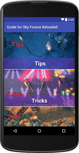 Guide for Sky force Reloaded  screenshots 1