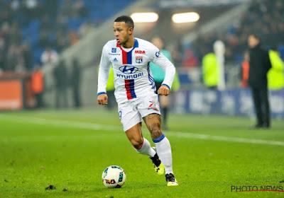 Memphis Depay porte Lyon, qui se rapproche de Marseille