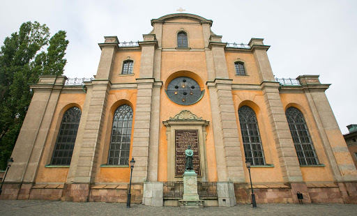 Church-in-Gamla-stan.jpg - The historic city church in Gamla stan, the old town in central Stockholm.