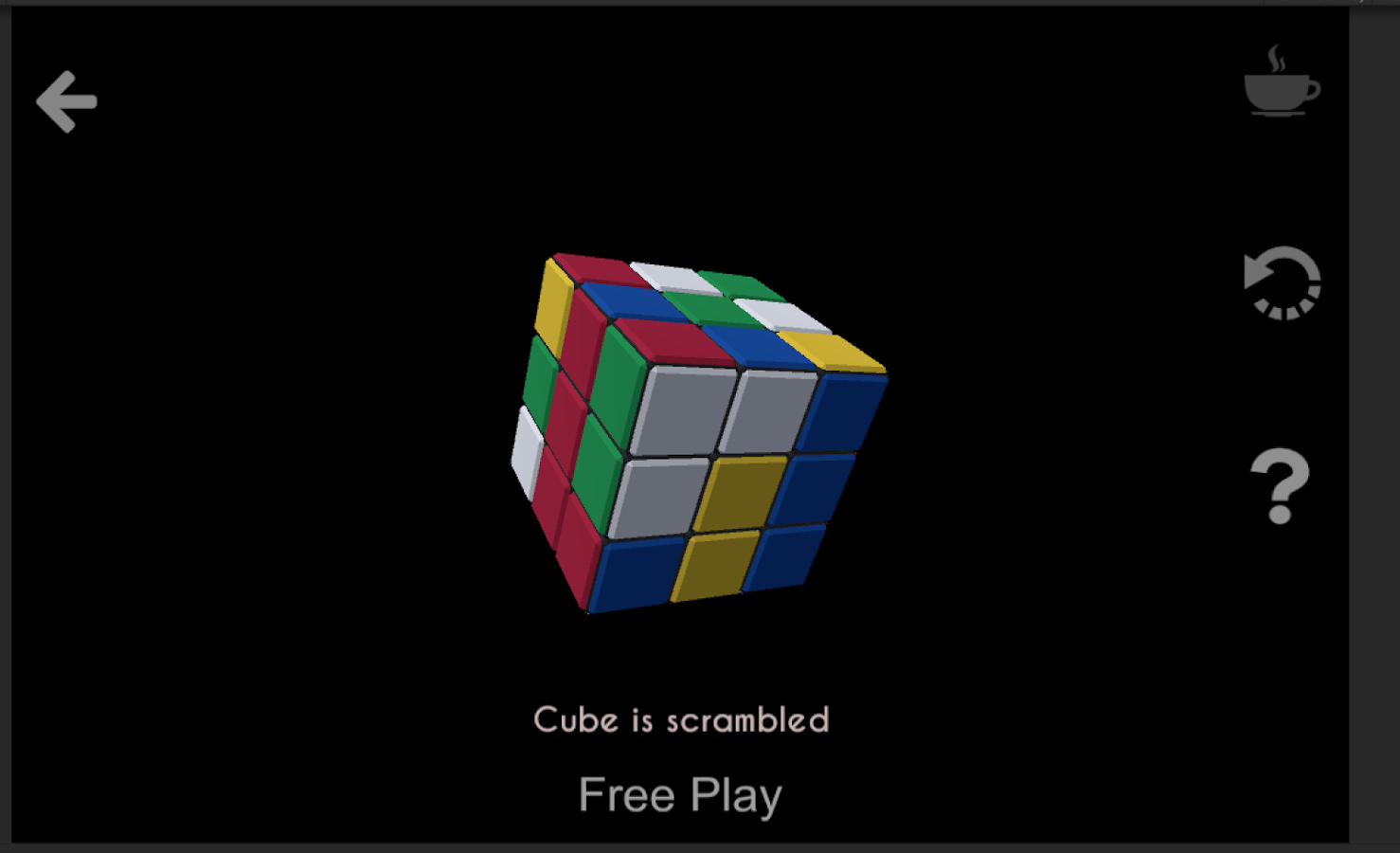Rubik's Cube- screenshot