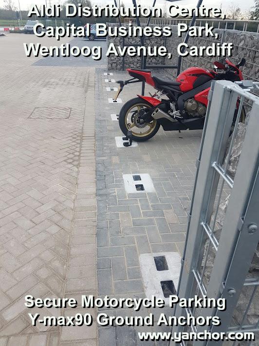 Secure Motorbike Parking
