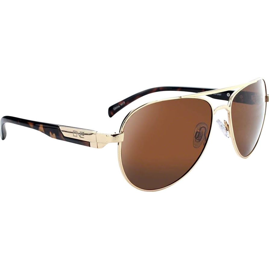 d48e20cb77b Optic Nerve ONE Cadet Polarized Sunglasses  Gold with Polarized ...