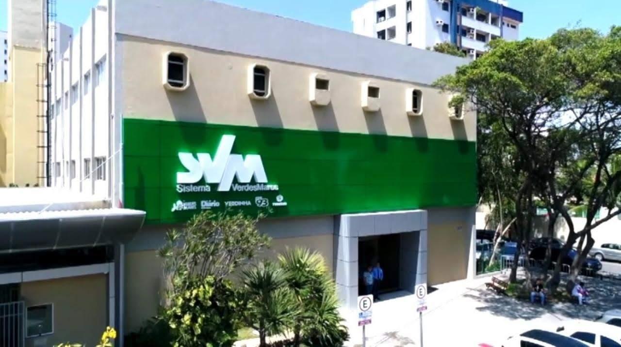 Sede do sistema Verdes Mares. onde fica a afiliada da Globo em Fortaleza