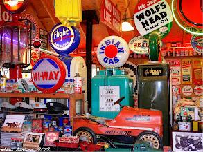 Photo: Gas Station Memorabilia