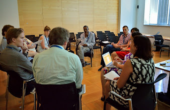 Photo: #eden14 Workshop gives a chance to discuss Photo by SRCE