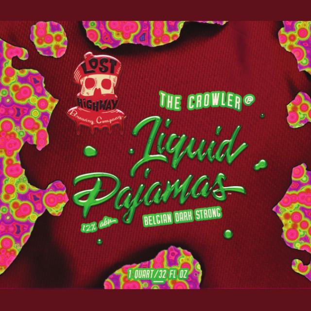 Logo of Lost Highway Brewing Company Liquid Pajamas