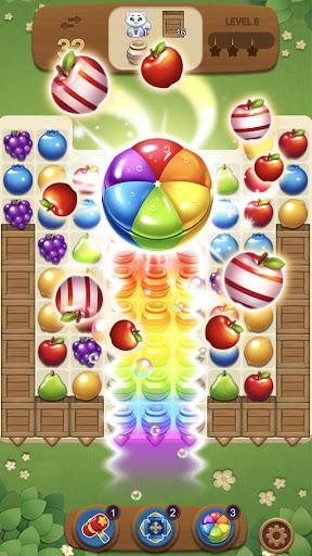 Fruits Magic Sweet Garden: Match 3 Puzzle ss3