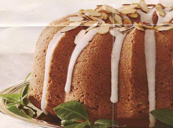 Cranberry Cake With Almond Glaze Recipe