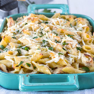 Chicken Alfredo Penne Casserole Recipe