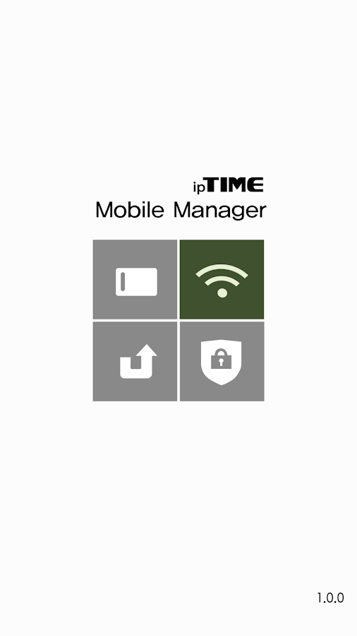 ipTIME Mobile Manager- screenshot
