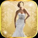 Wedding Dress Photo Montage icon