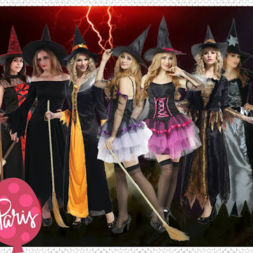Halloween必備 cosplay服 (女巫服) 售價 : HKD 100~160  #halloween #cosplay #女巫