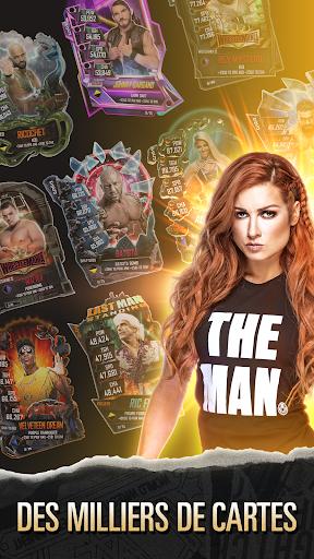 WWE SuperCard - Jeu de cartes multijoueur  captures d'u00e9cran 2