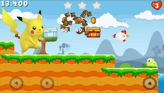 Running Dash Pikachu - náhled