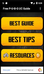 Free P-U-B-G UC Guide