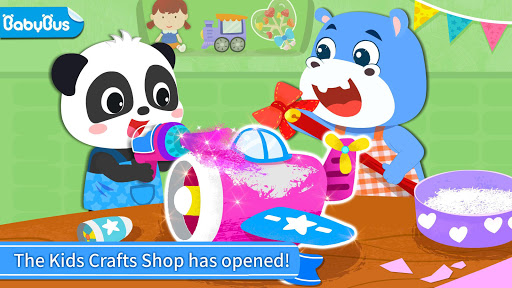 Baby Panda's Kids Crafts DIY screenshots 1