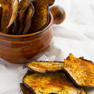 Crisp Eggplant Chips with Smoky Seasoning
