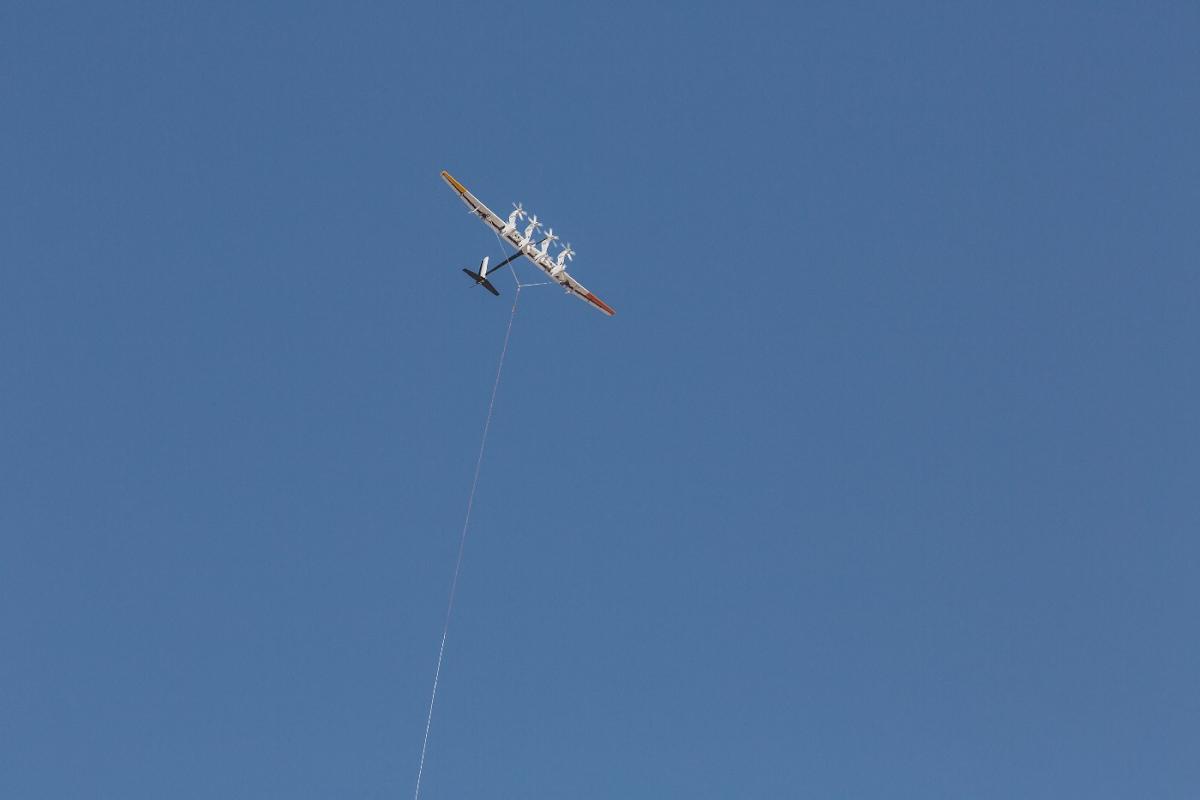 From kiteboard to energy kite