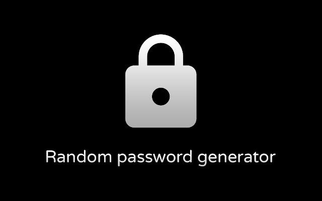 Random password generator