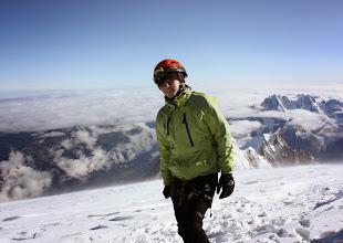 Photo: Ze szczytu Mt Blanc. 14.08.2014