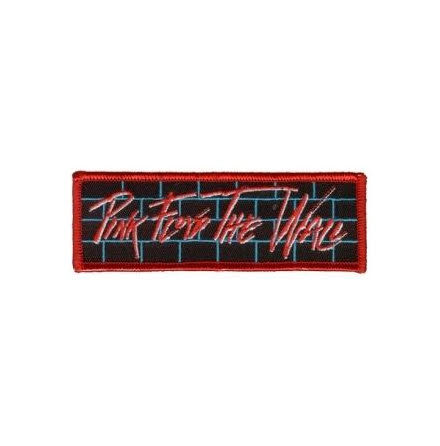 Pink Floyd - The Wall - Tygmärke