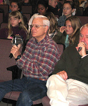 Photo: Fred Robbins...Our Video Expert and Mike Foley