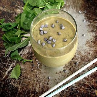 Mint Chocolate Protein Shake.