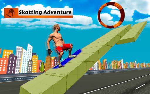 Skateboard Race Free 1.0.1 screenshots 2