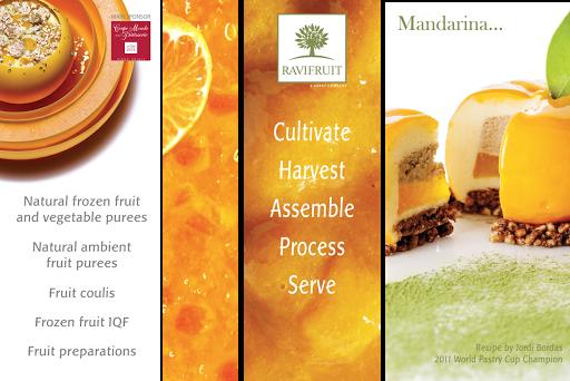 Création de visuels d'exposition, stand - Ravifruit Anneyron