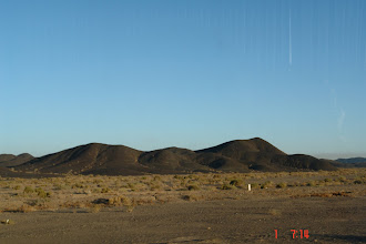 Photo: On the road from Dunhuang via Hami to eclipse site