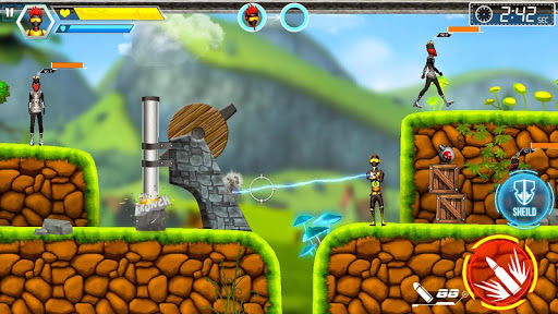 Mr Shooter Offline Game -Puzzle Adventure New Game android2mod screenshots 8