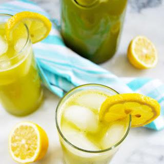 Middle Eastern Mint Lemonade.