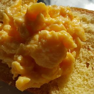 The Easy Creamy Scrambled Eggs.