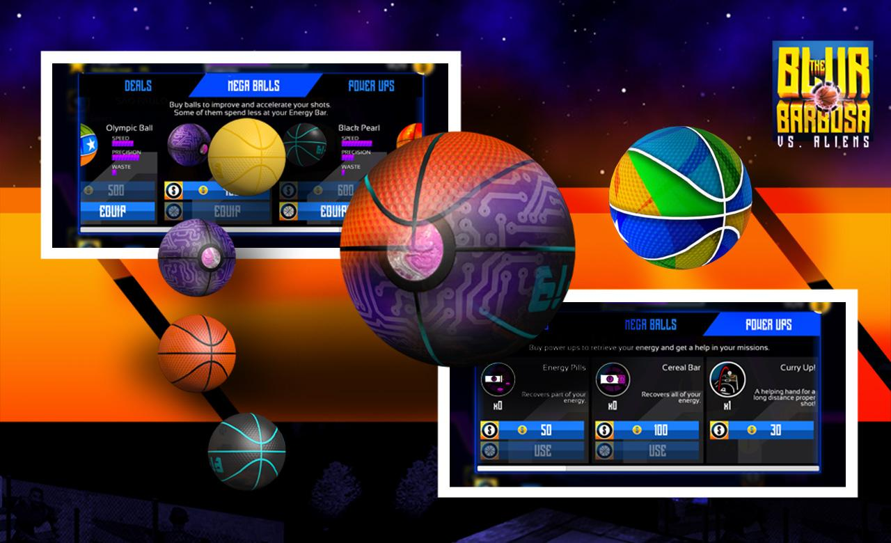 Basketball vs Aliens- screenshot