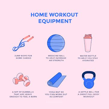 Home Workout Equipment - Instagram Post Template