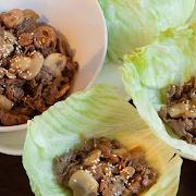 Korean Beef Lettuce Wrap