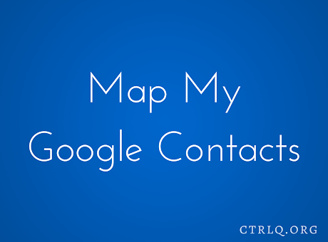 Map My Contacts