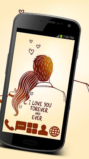 True Love Theme GO ADW APEX