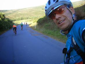 Photo: Heading to the steep Coastal climb