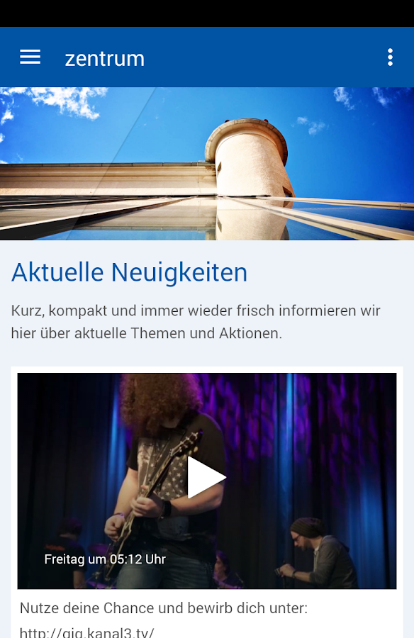 zentrum- screenshot