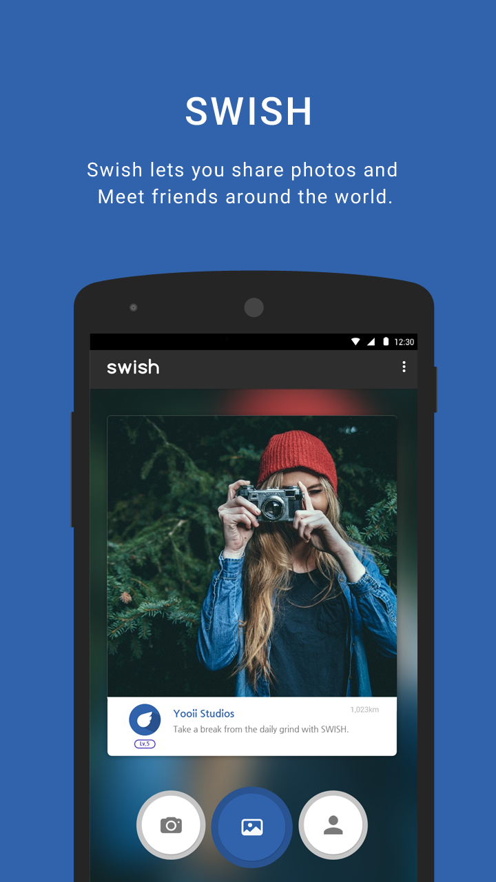 SWISH - Photo Sharing screenshot #1