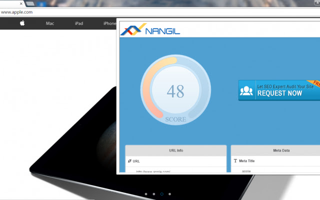 Nangil Onpage Website Analyzer