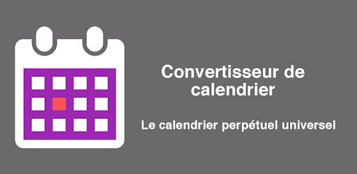 Calendrier Convertisseur.Convertisseur De Calendrier Applications Sur Google Play